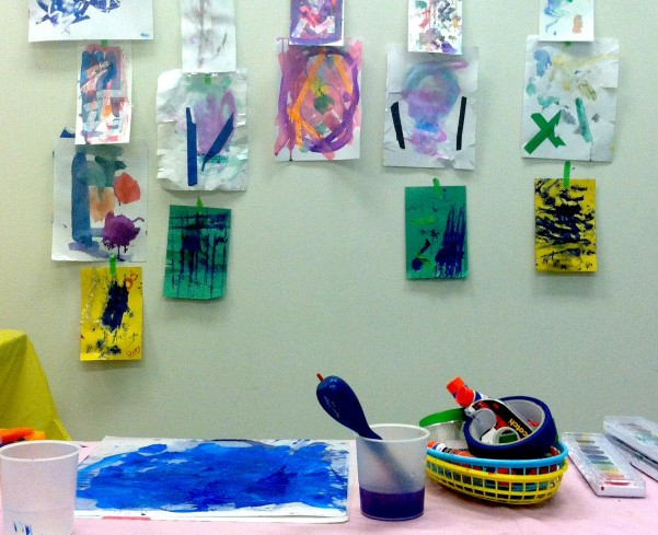 mini camp painting day